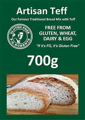 Artisan Teff Bread Mix 700g